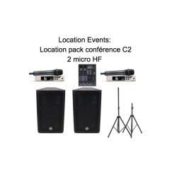 Location pack conférence C1...